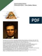 Ейбрахам Линкълн - Free Online Library