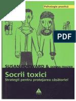 Susan Forward; Donna Frazier – Socrii Toxici-strategii Pentru Protejarea Casatoriei