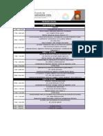 Programa VIII Simposio CICA