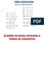 Álgebra Booleana - Portas Lógicas