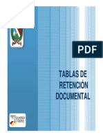 Elaboracion y Aprobacion Tablas de Retencion Documental