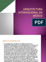 Arquitectura Internacional en México