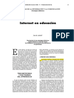 Adell Internet Educacion