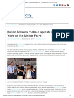 italian makers make a splash in new york at the maker faire   tech and the city