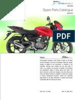 Manual de Partes Pulsar 180 UG4