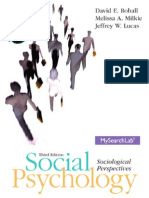 Social Psychology 3e