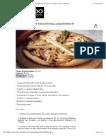 Tarte Feuilleté Au Camembert recipe