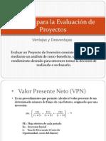 Técnicas Para La Evaluación de Proyectos P1.