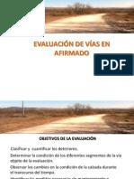 Evaluacion de Vias en Afirmados