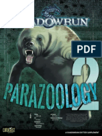 Shadowrun 5e - Parazoology 2