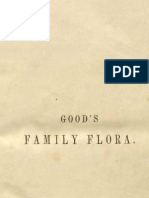 "Vintage Printable E Book, ""Good's Family Flora"" (1845), entire book, colored illustrations (engravings) and text"