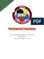 Wkf Kataandkumite Competition Rules