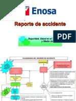 Flujograma de Reporte de Accidente