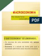 Cláudio Farias - Macroeconomia Básica