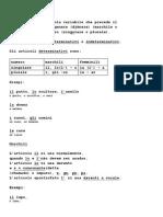 Estudando a Língua Italiana_ L'Articolo