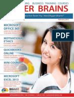 Bigger Brains Course Catalog February 2015