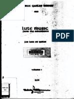 Lute Music From the Renaissance - Brani Facili