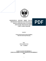 Kefektifan Metode Pqrst Dalam Membaca Pemahaman