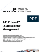 ATHE - Level 7 Management Specification