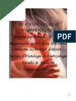 TD D'Histologie et D'Embryologie 1ere medecine.pdf