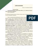 Carta Notarial Difamacion