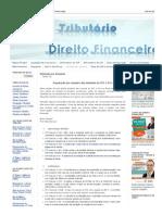 Tributário & Concursos_ Súmulas Por Assunto