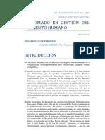 Diplomado en Gestion - Desarrollo de Personas