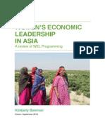 Women's Economic Leadership in Asia
