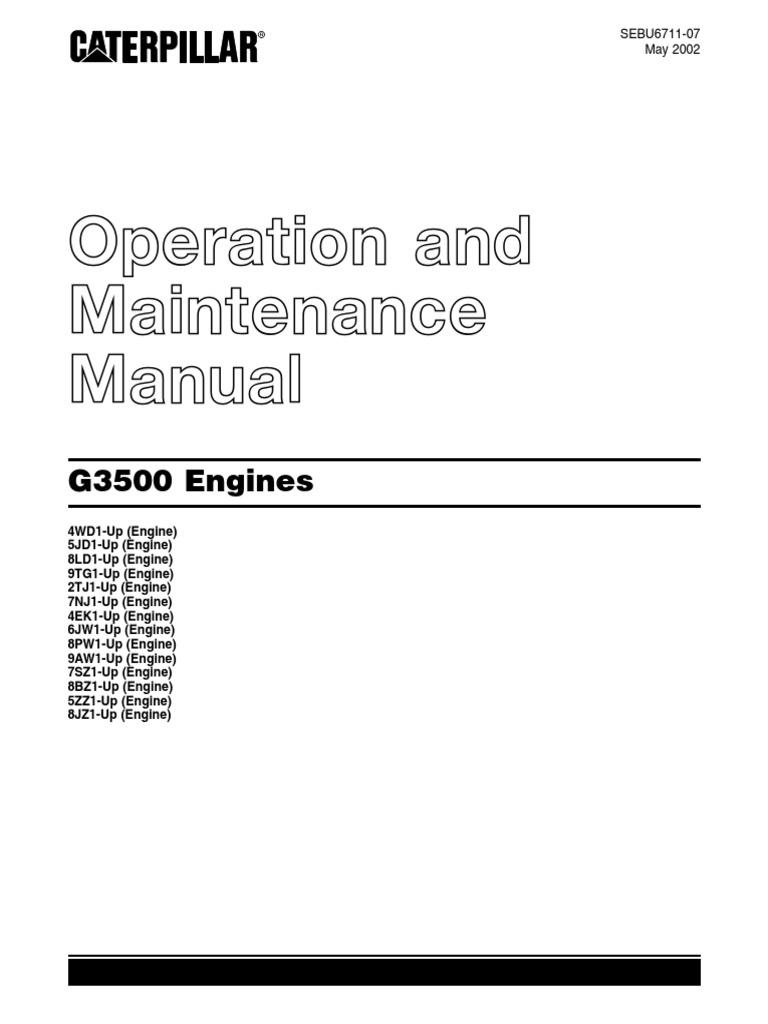 18-Sebu6711!07!01-All Operation and Maintenance Manual | Carburetor |  Turbocharger