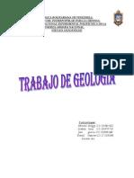 Trabajo de Geologia.