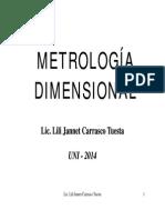 METROLOGIA DIMENSIONAL-UNI-4°