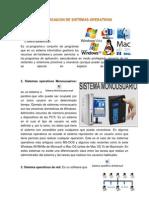 Identificaicon de Sistemas Operativos Manuel