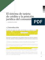 Anderson Saltzer Tarjeta de Crédito y Derechos Del Consumidor