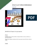 Las 7 Trompetas y Las 7 Copas Comparadas