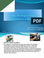 Medios de Pago Dinero Electronico