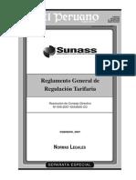 Resolución Regulacion Tarifaría