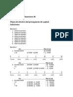 Material Academico de Apoyo, Administración Financiera III, Sesión 4 Soluciones