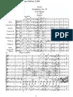 Mozart - Symphony No 35 in D Major Haffner K385 BarNumbersandRehearsalMarks