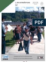 Boletin Mensual de Esatdísticas Migratorias 2012 INM