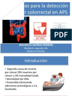 Deteccion de CA Colorrectal en APS