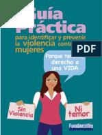 Guía Práctica para identificar y prevenir la Violencia contra las Mujeres