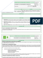 Diagrama Flujo Mantenimento Preventivo Universidad Uis