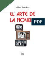 Kundera Arte de La Novela