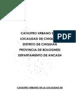 Md Catastro Chiquian