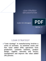 Lean Strategy Implementation Methodology