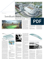 Swedbank Arena Roof Construction