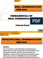 Fundamentals of Oral Communication Revised