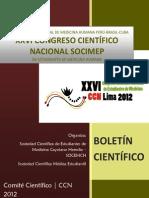 Libro de Resumenes - C. Cientifico 2012 (1)
