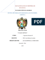 Informe Tanque Septico