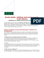 IFLA - Guidelines on safety, privacy and online behaviour